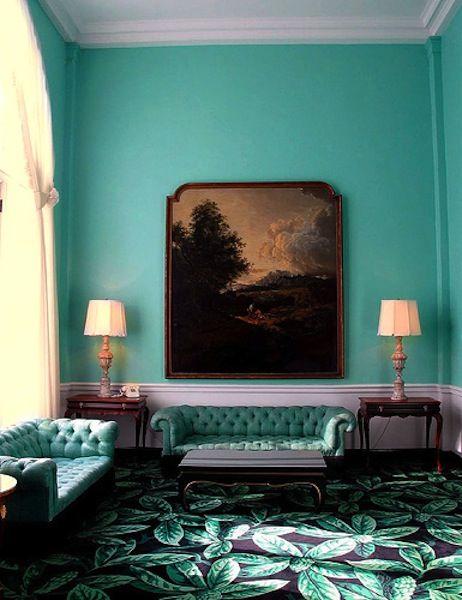 Dorothy Draper Sitting Room