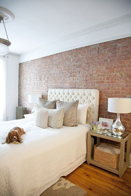 Exposed Brick Bedroom Homedesignboard