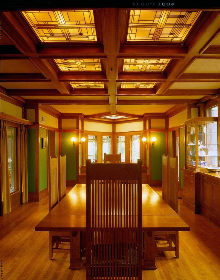 Frank Lloyd Wright Interiors HomeDesignBoard
