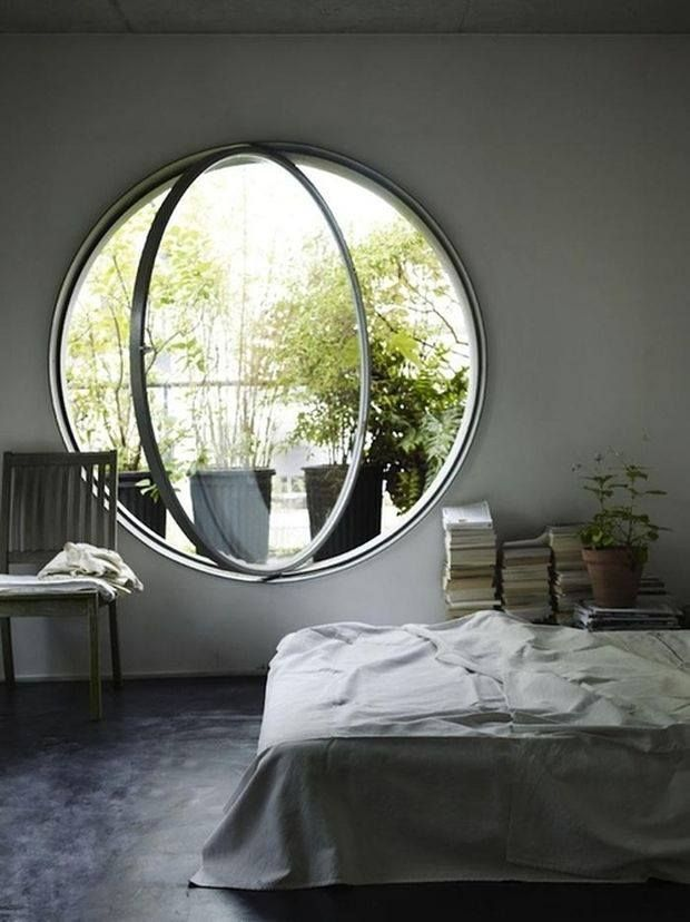 Large Operable Porthole Window