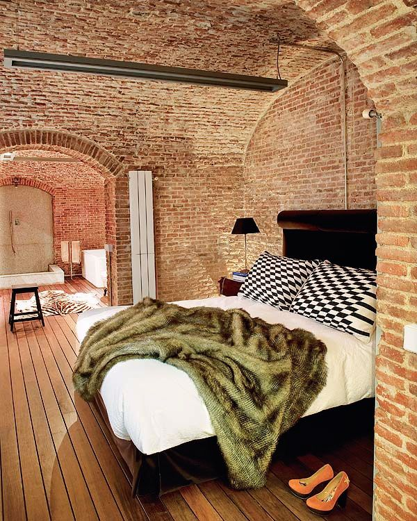 Madrid Brick Interior