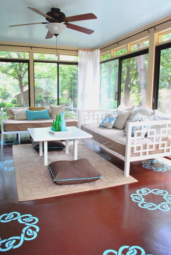Permeable Sun Room
