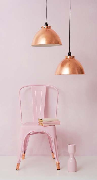 Pink and Copper Pairing