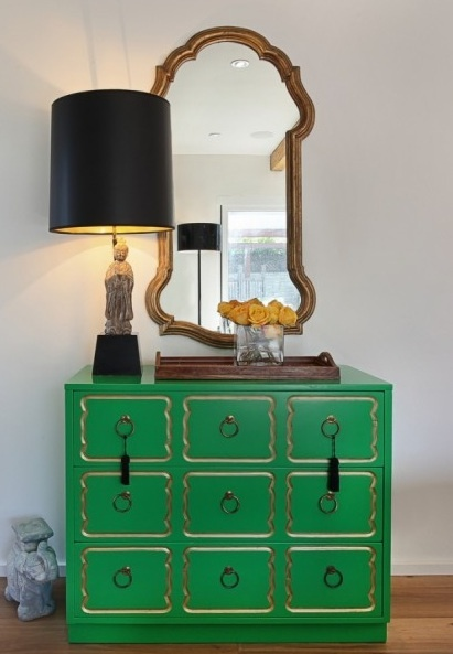 Signature Dresser in Green