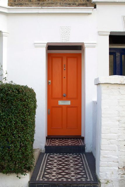 Surprise Orange Door