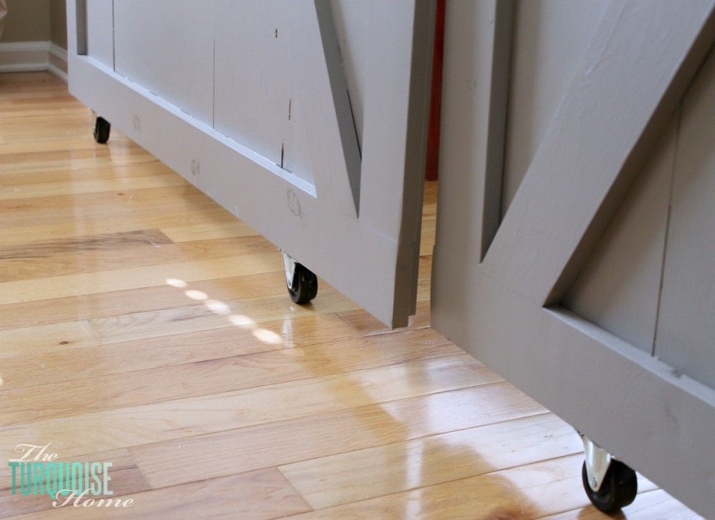 Bottom Rolling Door Parts Are Typically Available At A Local Home  Improvement Store (e.g., Casters, Pipe Hardware, Etc). However, You Will  Need To Precisely ...