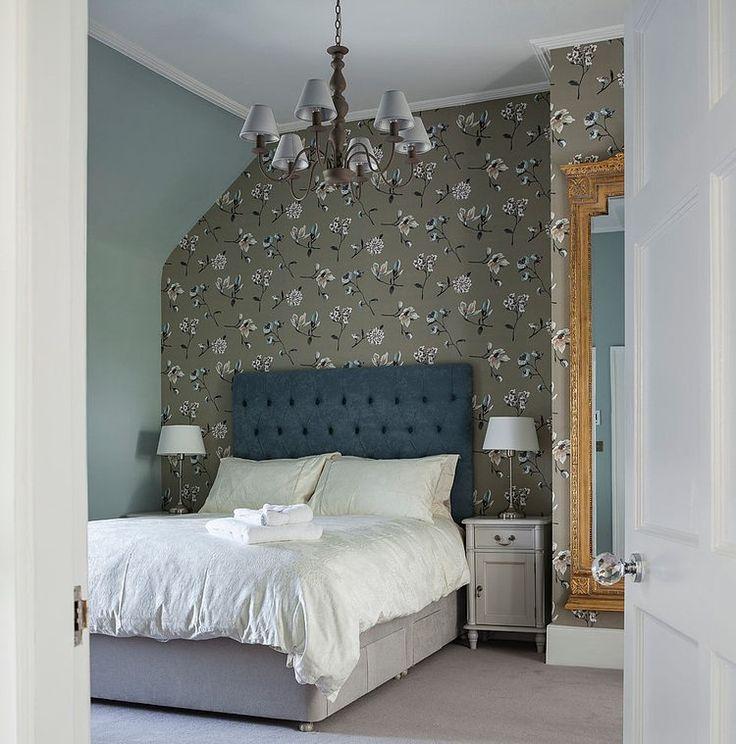 Floral Guest Room Design