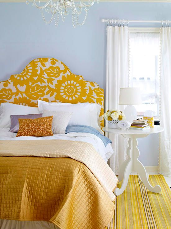 Floral Yellow and White