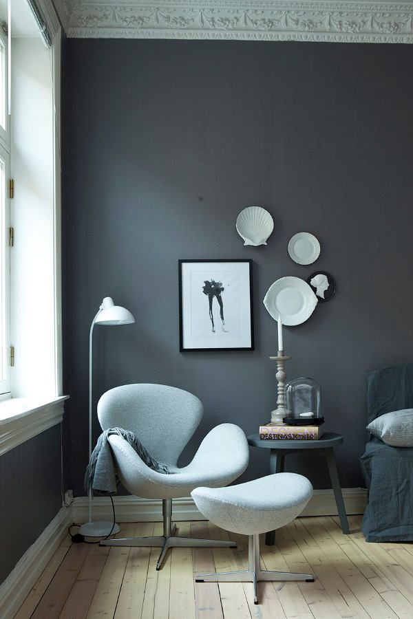 swan chair by arne jacobsen homedesignboard. Black Bedroom Furniture Sets. Home Design Ideas