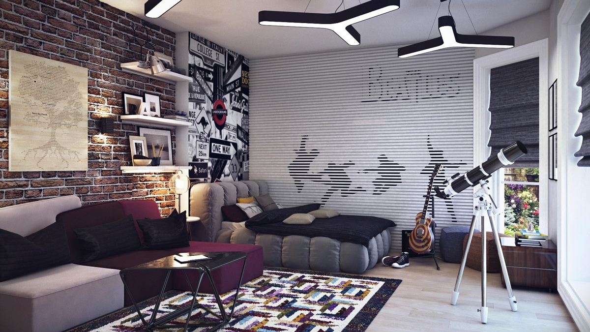 music inspired interior design